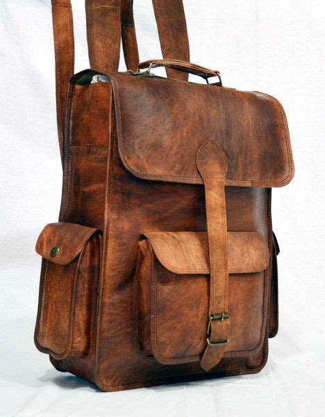 Handmade Leather Luggage - 25 best ideas about vintage leather bags on