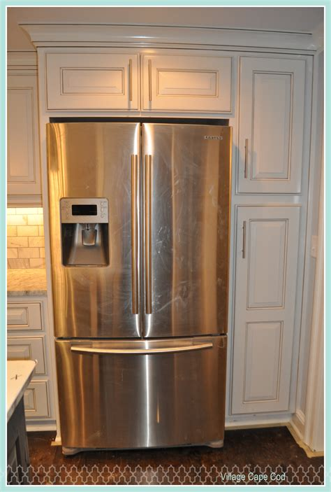 kitchen cabinets refrigerator appliances are in village cape codvillage cape cod