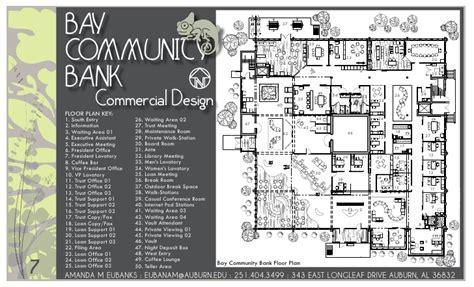 commercial bank floor plan amanda eubanks interior design portfolio