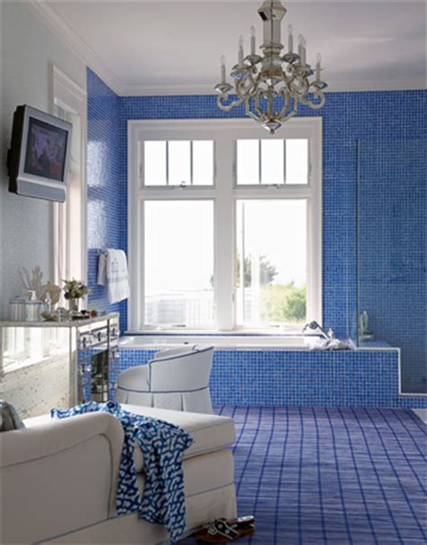 Blue Tile Bathroom Ideas | blue bathrooms how to decorate blue bathrooms
