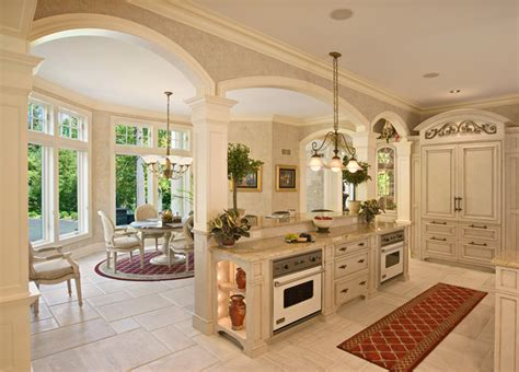 Small Kitchen Island With Stools by French Colonial Style Kitchen Mediterranean Kitchen