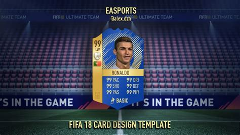 fifa 18 card template fifa 18 tots gold card template concept for free