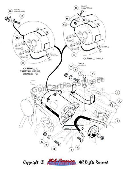 club car starter generator wiring diagram starter generator wiring diagram car pictures