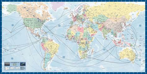 businessmapsaustralia world shipping map