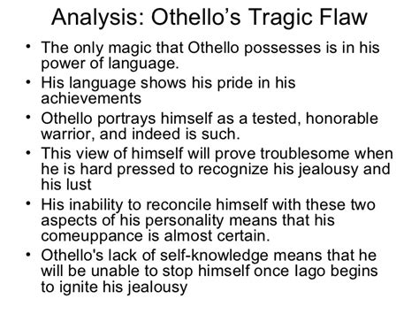 Othello Essays On Othellos Character by Othello Ppt By