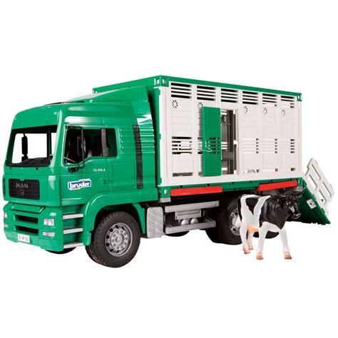 bruder trucks bruder cattle transportation truck qc supply