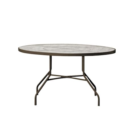 42 round glass dining table tropitone 646n acrylic and glass tables 42 inch round