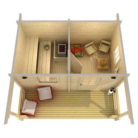 log sauna plans all russian