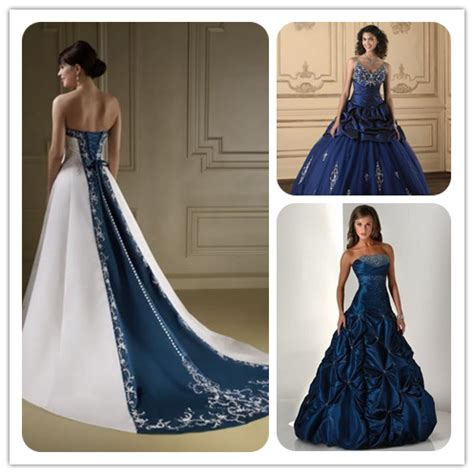 Wedding Dress Navy Blue by It S To Be Navy Blue Wedding