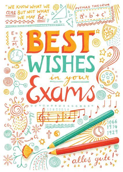 17 best images about EXAMS- GOOD LUCK! on Pinterest Final Exam Wishes