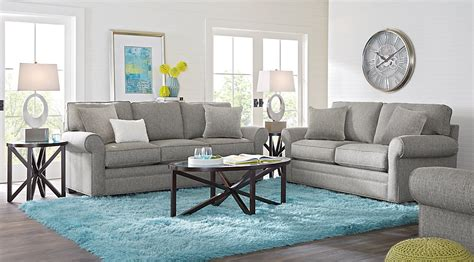cindy crawford home bellingham gray  pc living room