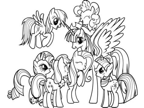 free printable coloring pony coloring page 24 in 41 free my pony coloring pages collections