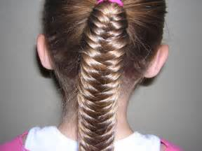 fishtails with braided hair cute long little girls hairstyles for school how to style