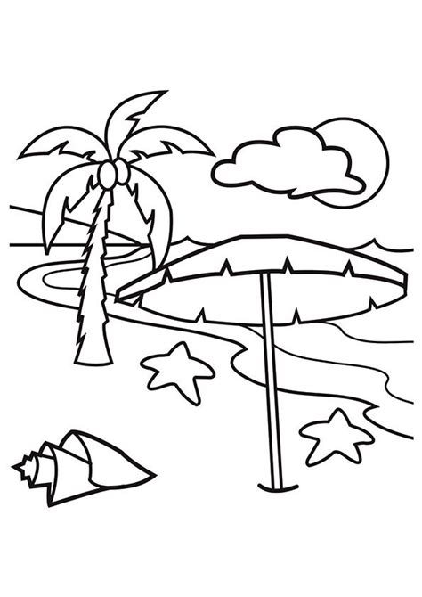 top  hawaiian coloring pages  toddler beach