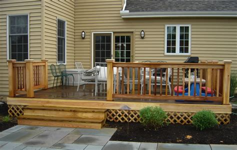 simple deck ideas simple front deck plans ideas information about home
