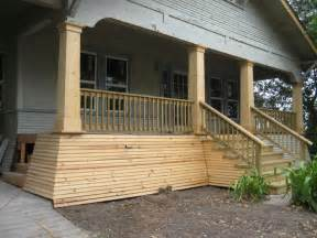 home remodeling front porch columns with wood fence front porch columns beautify the