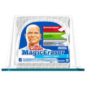 mr clean magic eraser variety pack 6 count walmart