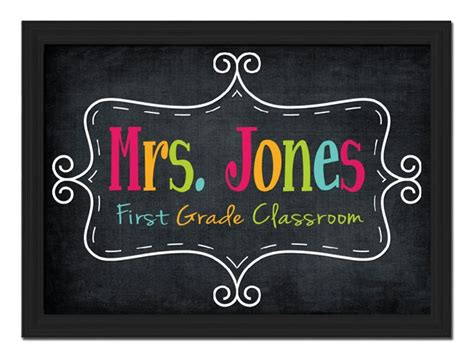 classroom door signs templates 25 best ideas about name signs on