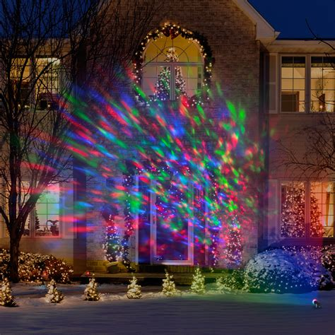 Colored Landscape Lights Lightshow Kaleidoscope Multi Colored Lights Led Outdoor