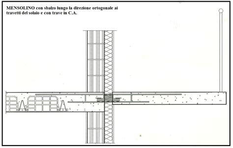 solaio terrazzo una mensola che risolve il problema dei ponti termici nel