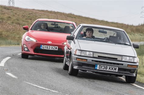 toyota company cars toyota sports cars past and present ae86 vs gt86 toyota