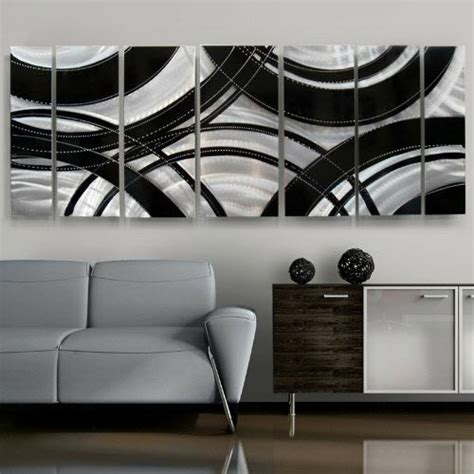 modern metal wall decor contemporary home decor crossroads modern metal wall