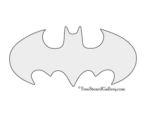 batman pumpkin template batman symbol stencil a papercut craft