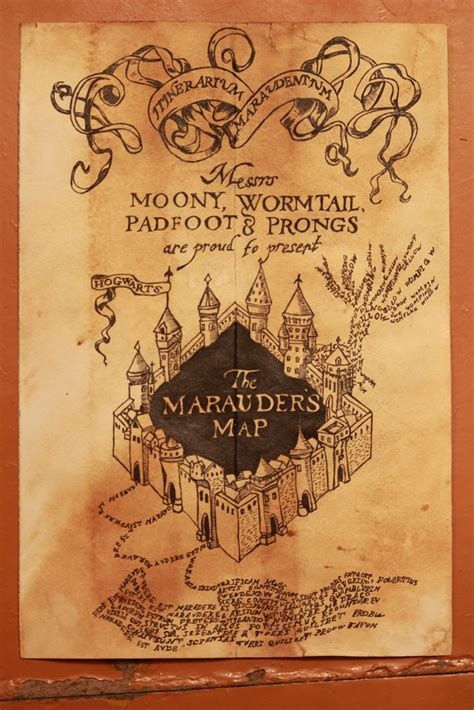 my marauders map by madara sensei on deviantart