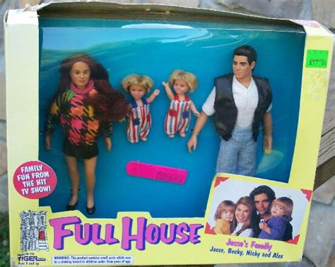 full house doll full house doll set jessie s family nrfb jessie becky and twins l k ebay