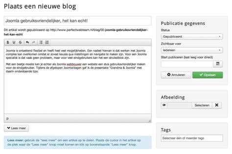 joomla template zelf maken artikel toevoegen in joomla zo simpel perfect web team