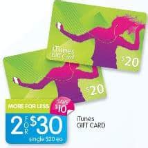 Who Has Itunes Gift Cards On Sale This Week - big w itunes gift cards on sale for one day only gift cards on sale