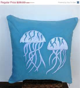 30 stock clearance decorative pillows jellyfish by
