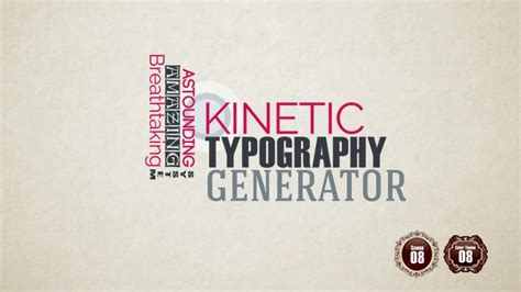 Kinetic Typography Generator Free Fitfloptw Info Free Kinetic Typography Generator