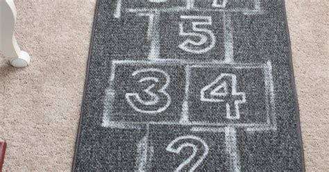cb2 hopscotch rug ok the cb2 hopscotch rug don t the price so here s my version for a few hundred