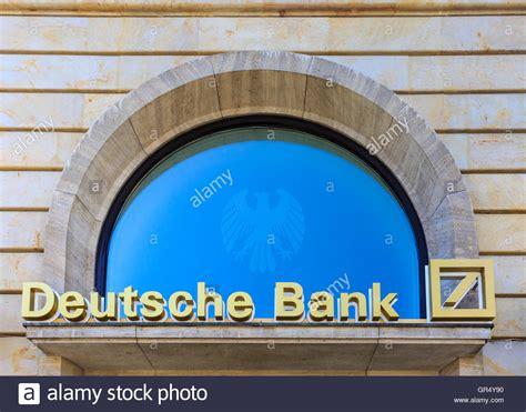 deutsche bank rossmarkt frankfurt deutsche bank logo and corporate name at rossmarkt in the