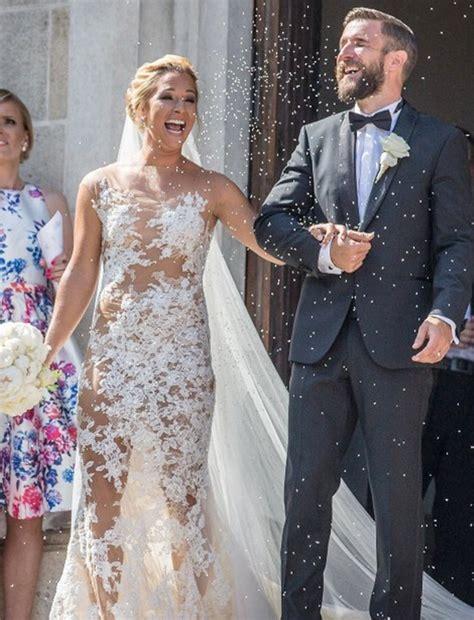 Nafara Dress photos dominika cibulkova sizzles in wedding gown