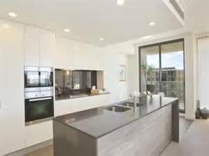 Single line kitchen design using tiles kitchen photo 106987