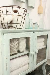 shabby chic bathroom cabinet furniture revitalized luxury 30 soothing shabby chic bathrooms