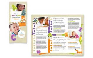 daycare brochure template child care brochures templates designs