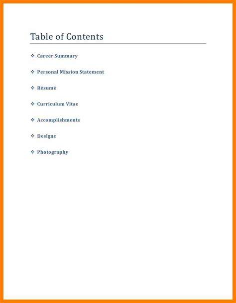 6 cover page career portfolio science resume