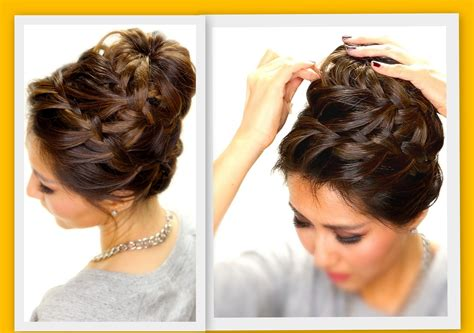 Hairstyles Buns For Medium Hair by Easy Buns For Medium Hair Hairstyle For