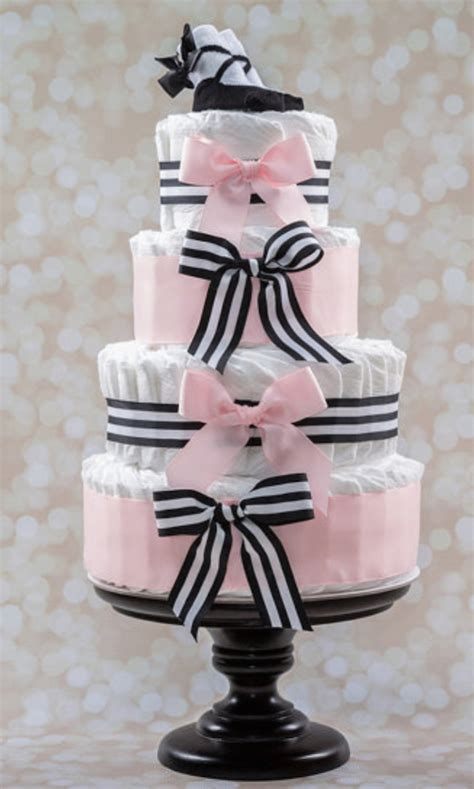 Black And Pink Baby Shower Cakes by Amazing Cakes For Baby Shower Gifts Decorations