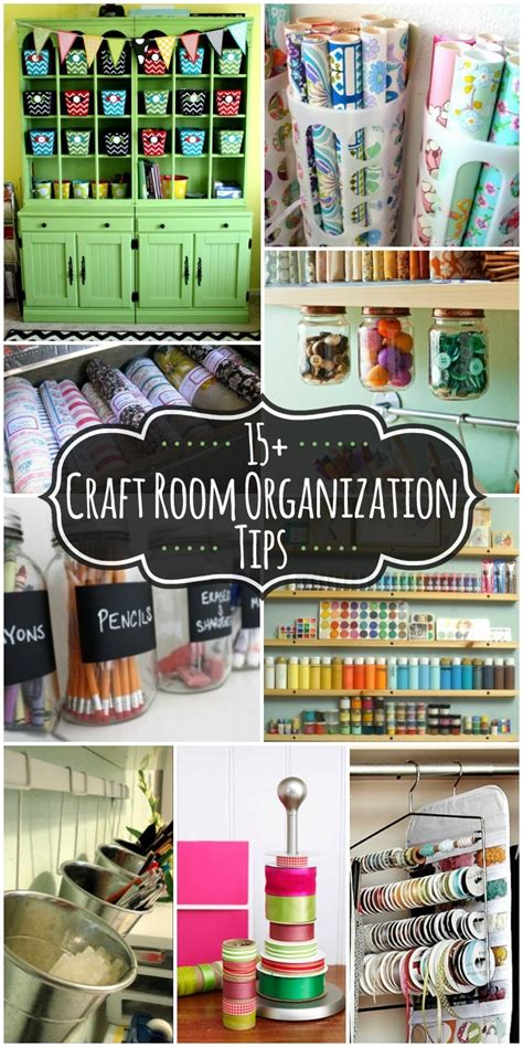 room organization tips 20 craft room organization ideas