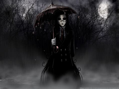 anime goth girl wallpaper gothic anime wallpapers wallpaper cave