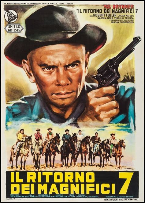 film western yul brynner 17 best images about italian movie posters on pinterest