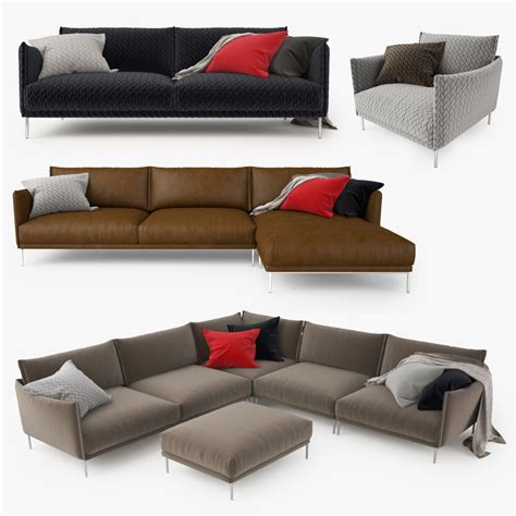 gentry sofa moroso moroso gentry sofa 3d model