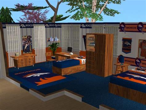 denver broncos bedroom mod the sims denver broncos bedroom requested by jeffsta17