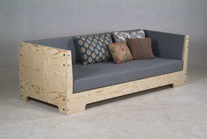 diy sofa chair plywood sofa by piet hein eek boston plywood piet