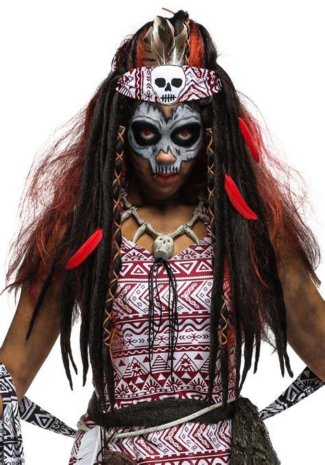 voodoo witch wig  women