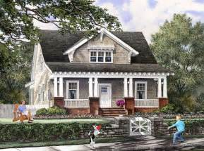 Craftsman Farmhouse Plans by Bungalow Cottage Craftsman Farmhouse House Plan 86121